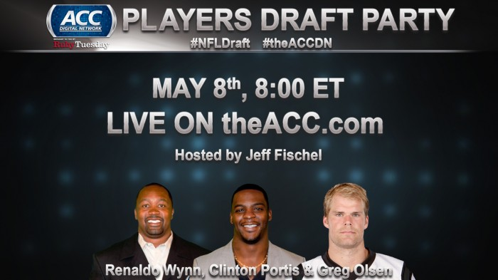 THE ACC DIGITAL NETWORK STREAMS PLAYERS DRAFT PARTY LIVE - #SportsTechie blog