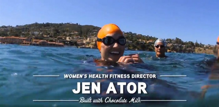 Mission Apolo teammate Jen Ator, Fitness Director at Women's Health