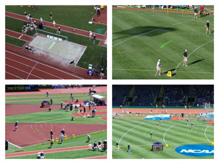 LASER LEADER LINE INVITED BACK TO PARTICIPATE IN 2014 NCAA TRACK AND FIELD NATIONAL CHAMPIONSHIPS