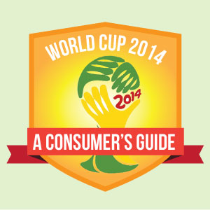 Infographic By Sports Management Degree Hub - World Cup 2014: A Consumer's Guide