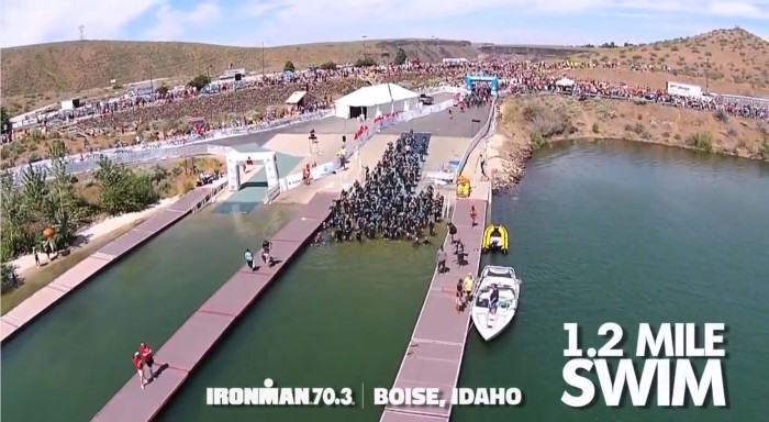 IRONMAN 70.3 Boise for Apolo Ohno and Chocolate Milk