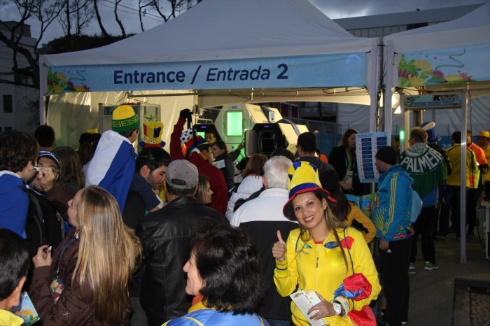 Qylur Automated, Self-Service, Security-Screening Kiosk Is Revolutionary At 2014 FIFA World Cup Brazil