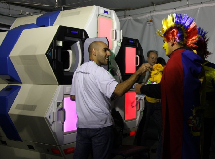 World Cup Soccer Fans Enjoy Qylur's Automated, Security-Screening Kiosk