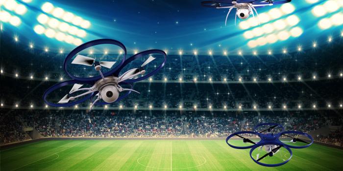 Soccer Drones, image via Weekly Wonk.