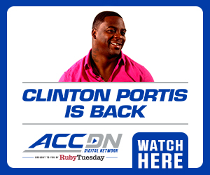 The ACC Digital Network Brings Back Football Analyst Clinton Portis