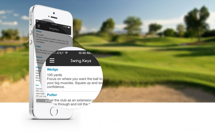 The Caddio app is a first to market, caddie like user experience that uses crowdsourcing technology to assist golfers lower scores by providing local details about golf courses.