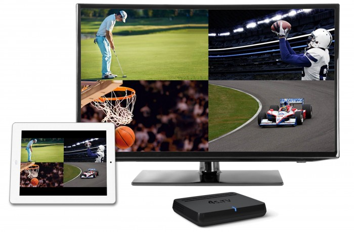 Watching multiple games at once is a Sports Techie dream and 4SeTV allows you to do this on a monitor, smartphone or table as a brand new way to watch TV.