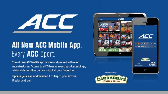 All New ACC Mobile App, Every ACC Sport.