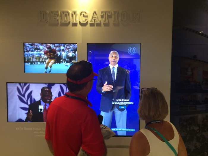 The 150 total #CFBHall interactive multimedia displays and screens will keep you entertained for hours if not days.