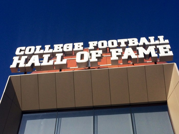 College Football Hall of Fame Opening And Chick-Fil-A Fan Experience Sports Tech - Sports Techie blog