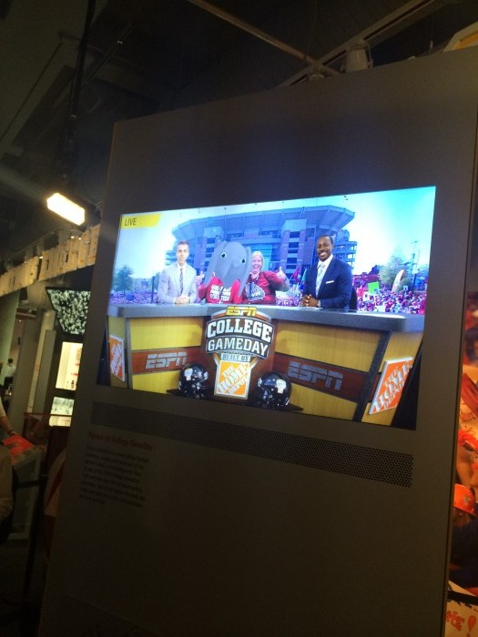ESPN College GameDay Built By The Home Depot.