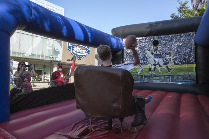 College Football Hall of Fame Opening Ultimate Tailgate.