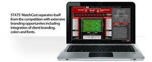 STATS MatchCast sports technology product.