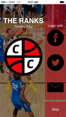 THE RANKS provides a socially intuitive platform that makes it easy for users to rate and comment on players listed in national high school basketball rankings.
