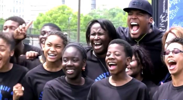 Cam Newton Teams with Drakkar Essence To Raise Money for the Cam Newton Foundation .