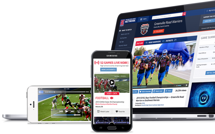 The NFHS Network captures the passion, pride, and energy of the high school experience by delivering live high school sports and events to family members and fans whenever they want, wherever they are.