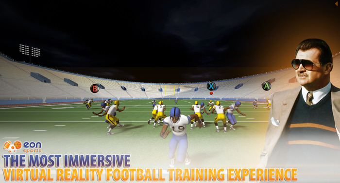 EON Sports Virtual Reality Football Training Experience