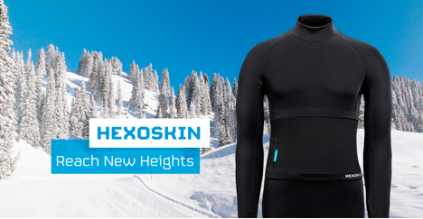 New Artic Smart Shirt By Hexoskin For Cold Weather Training Has Biometrics - Sports Techie blog