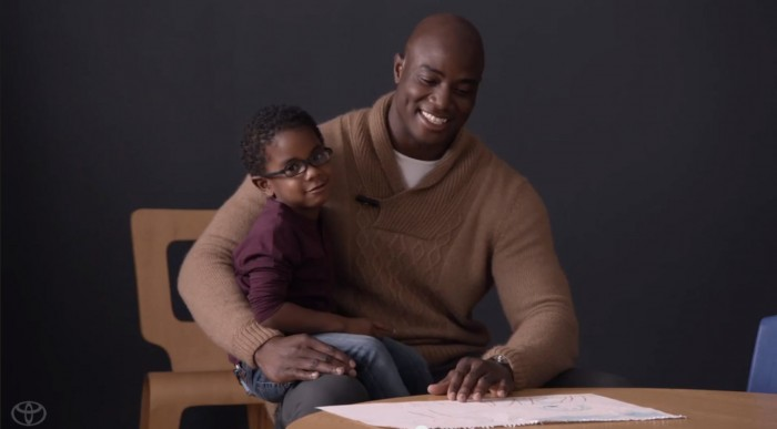 To be a Dad, is a Big Game advertisement created by Toyota that delivers a poignant look into the world of being a caring father.