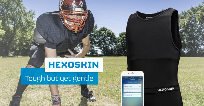 Hexoskin announces World's First Biometric Shirt for Kids and Teens at CES 2015 Las Vegas.