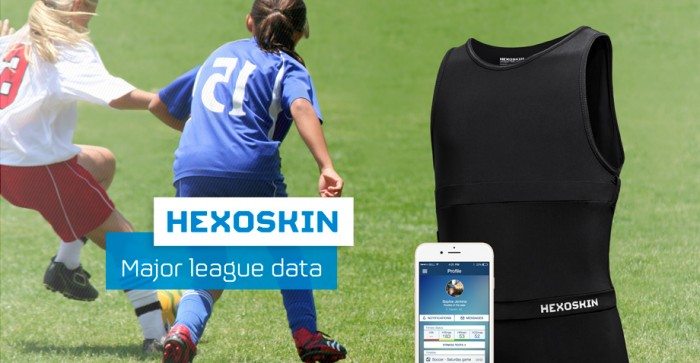Hexoskin's mission is to record and organize personal health information and make it accessible and useful