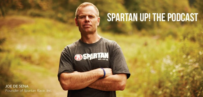 New Spartan Up The Podcast On iTunes Delivers Athletic, Business and Life Content - Sports Techie blog.