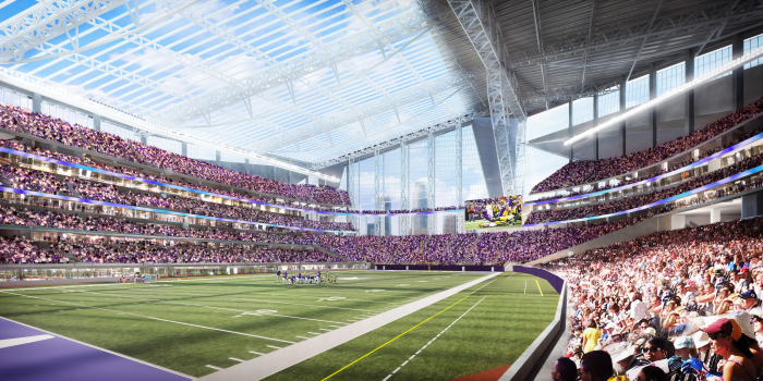 NEW MINNESOTA VIKINGS STADIUM TO INSTALL HIGH OUTPUT LED LIGHTING FROM EPHESUS LIGHTING