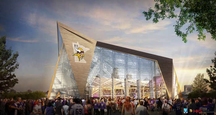 New Minnesota Vikings Stadium Installing LED Lights By Ephesus Lighting - Sports Techie blog