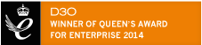 D30 Winner of Queen Award For Enterprise 2014