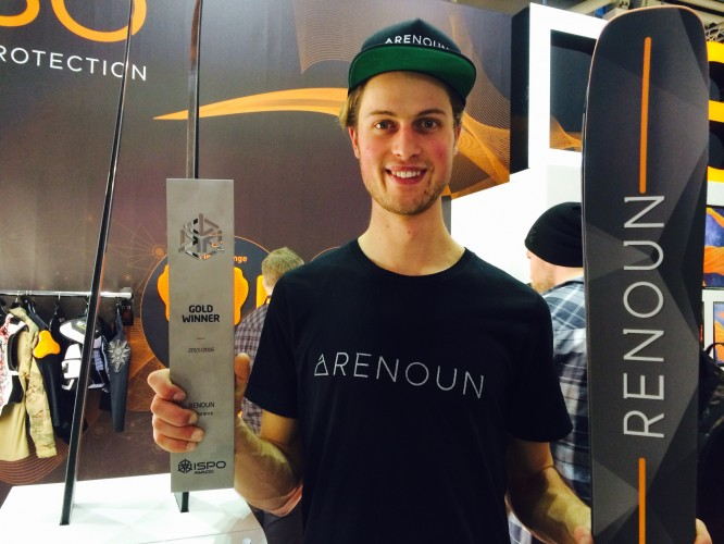 D3O's industry first of smart materials in ski hardware rewarded with ISPO Gold Award