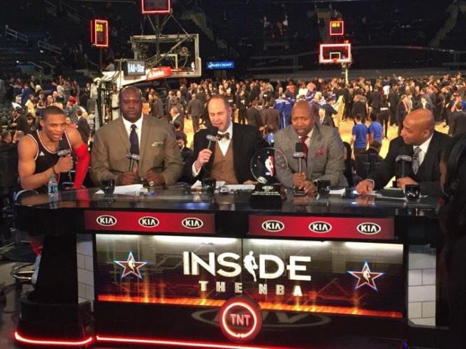 RT: NOW on @NBATV: #KiaAllStarMVP @russwest44 discusses his performance with the #InsidetheNBA crew! #NBAAllStarNYC