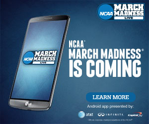 NCAA March Madness Live App New Design, TeamCasts And Features