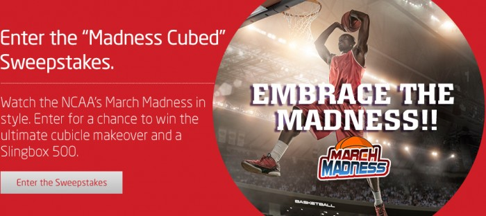 Slingbox Player March Madness Cubed Sweepstakes | Sports Techie