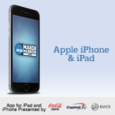 March Madness Live for the Apple iPhone and iPad.