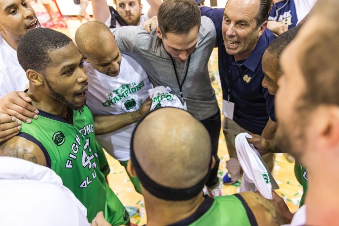 The best team model was model was the Notre Dame Fighting Alumni because they leveraged their alumni network and had men's Head Coach Mike Brey, fly out before the finals, take them team to diner and talk to the team.