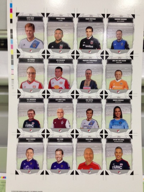 Topps And MLS WORKS Launch Fan Customizable Healthy Habits Team Cards - Sports Techie blog.