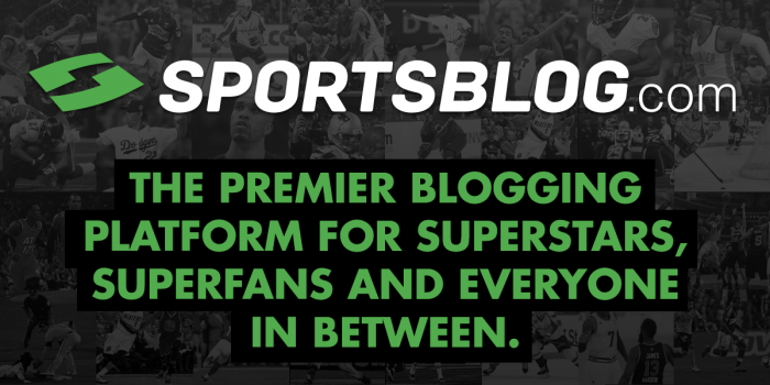 SportsBlog.com: The premier blogging platform for superstars, superfans and everyone in between.