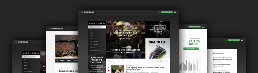 SportsBlog Grows To Forty Million Page Views A Month By Adding Sports Tech And Niche Web Sites - Sports Techie blog.