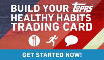 "Topps and MLS WORKS Partner On Customizable ""Healthy Habits"" Cards."