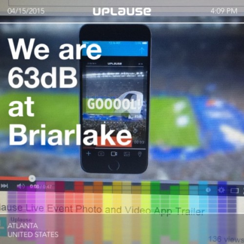 Sports Techie HQ at Briar Lake, Atlanta, GA, Uplause App Photo with 63dB.