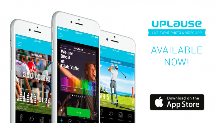 Uplause believes it has the best app for sharing unique moments and experiences from Live events.