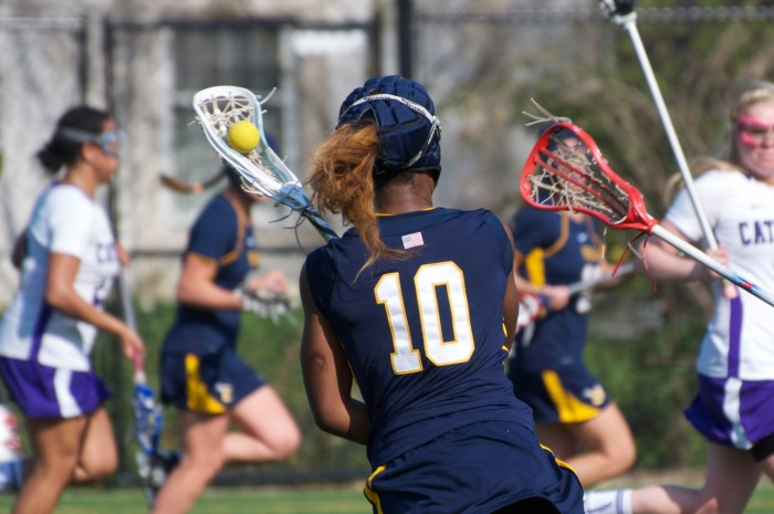 Softshell headgear by Gamebreaker is revolutionizing women's lacrosse and flag football.