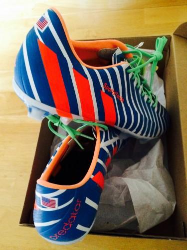 Adidas Predator Instinct Customized Soccer Cleats Experience  - Sports Techie blog.