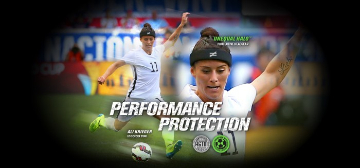 USWNT Player Wears Unequal Halo Headgear During Women's World Cup - Sports Techie blog.
