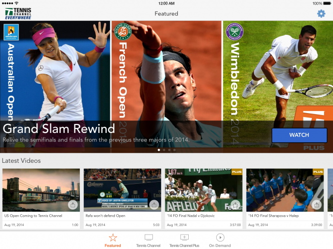 The Tennis Channel Powered By NeuLion Delivers Wimbledon Streaming Video Directly To Fans - SportsTechie blog.