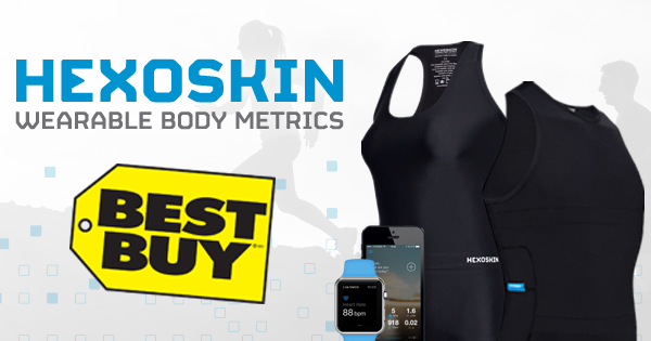 Hexoskin Smart Shirts Available At Best Buy For Canada Day - #SportsTechie blog,