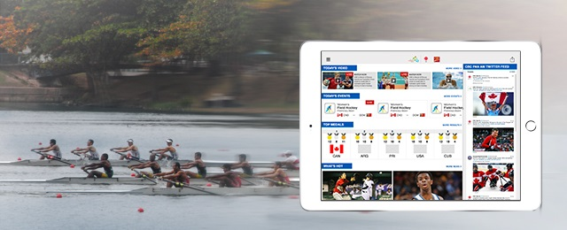 CBC's digital platform for the Pan American Games developed by deltatre , including the website, video platform and mobile apps.