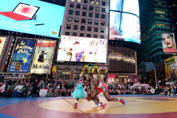 Salsa in the Square