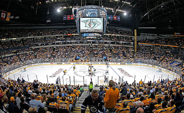 Bridgestone Arena to Install LED Lighting From Ephesus Lighting