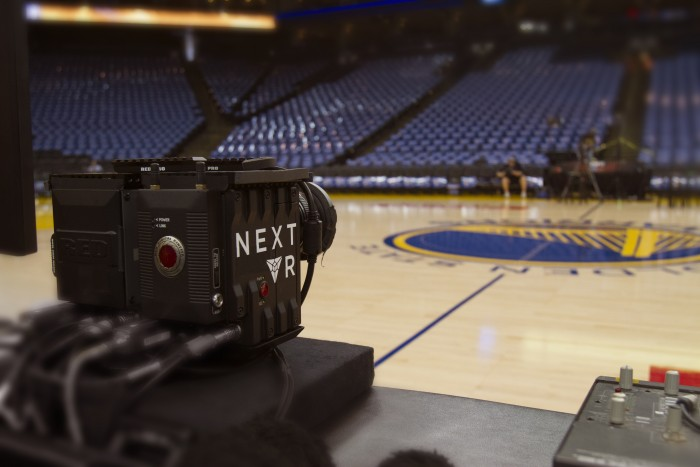 The NBA announced this week their plans to broadcast one game a week by NBA Digital and NextVR using virtual reality technology.